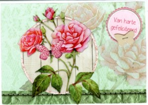 kaart bloem007